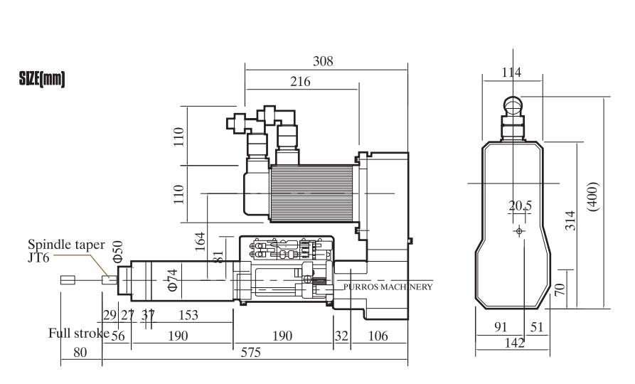 PRST5-HL316 Servo Tapping Machine