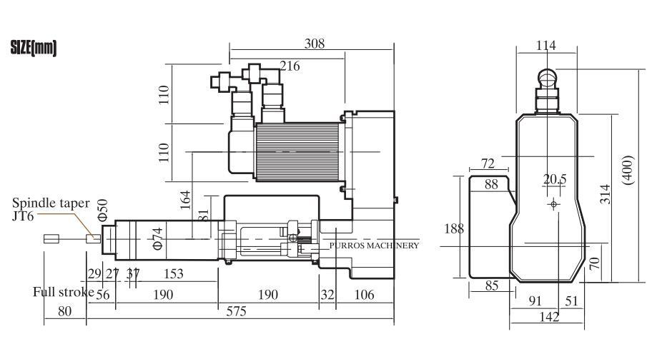 PRST5-S Servo Drilling & Tapping Unit